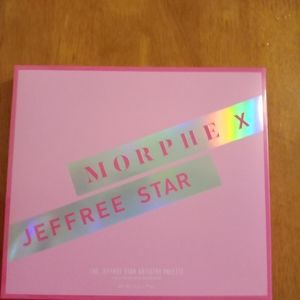 Morphe and Jeffrey Star Collab eyeshadow Palette